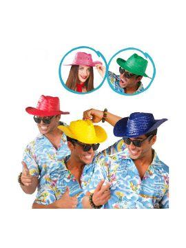 sombrero de paja verano varios colores