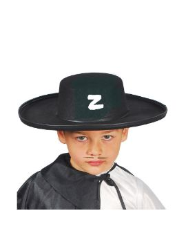 sombrero de zorro fieltro infantil