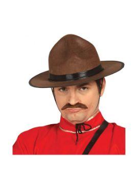 sombrero policia canadiense adulto