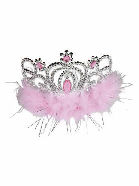 tiara de princesa con marabu