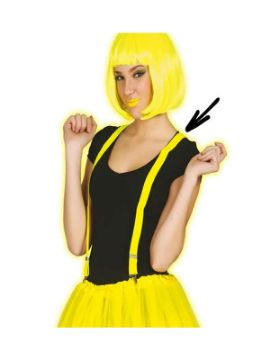 tirantes amarillo neon