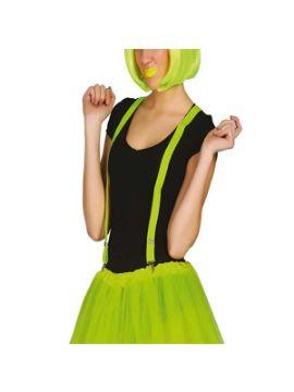 tirantes verde lima adulto