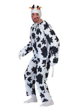 disfraz vaca con cuernos hombre adulto