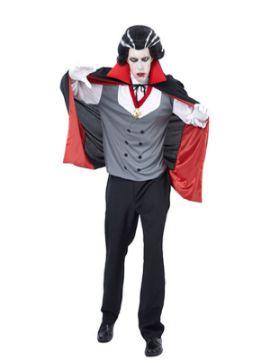 disfraz de vampiro dracula para hombre adulto
