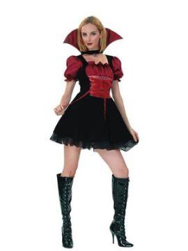 disfraz vampiresa sexy corto de mujer adulto