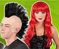 pelucas para carnavales y fiestas