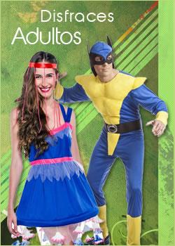 disfraces adultos para mujer y hombre