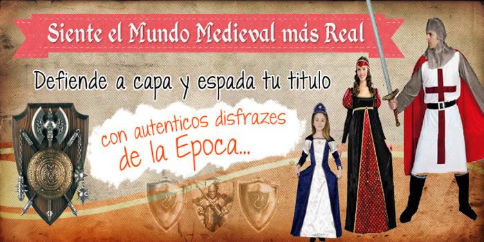 Disfraces medievales y de época
