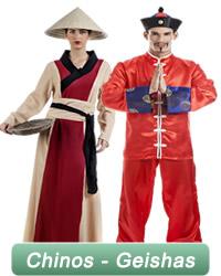 Chinos y Geishas