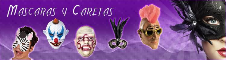 mascaras de payasos