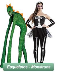 Esqueletos para adultos y infantiles
