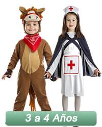 disfraces de niños de 3 a 4 años