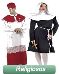 Monjas, curar y obispos