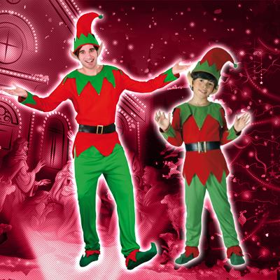 Disfraces de elfos y elfas adultos