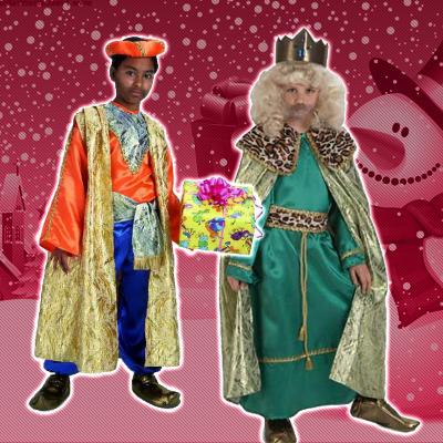 trajes de reyes magos infantiles