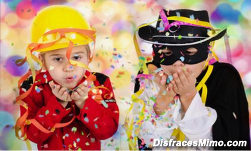 disfraces carnaval infantiles