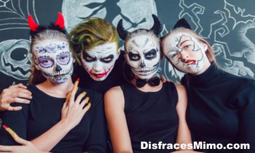 mascaras y caretas para halloween