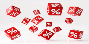 Descuentos desde un 5 % hasta un 10 %