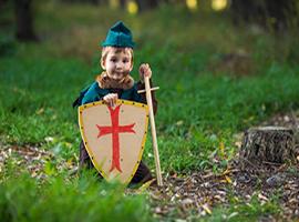 disfraces medievales adultos y infantiles
