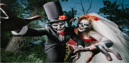 Disfraces de Vampiros y Zombies