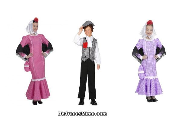disfraces de chulapos y madrileños