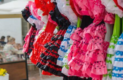 disfraces de sevillanas para la feria de abril