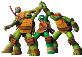 tortugas ninja, dibujos animados