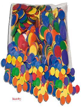 12 bolsitas de confetis colores 80 gr