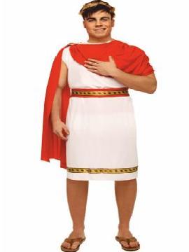 disfraz de emperador cesar adulto. Podrás recrear la época del imperio romano en el carnaval, ferias históricas, representaciones teatrales y fiestas temáticas.Este disfraz es ideal para tus fiestas temáticas de disfraces romanos y egipcios para hombre adultos.