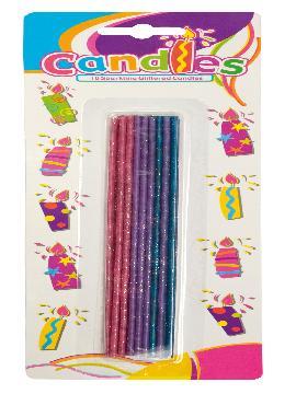 18 bengalas de colores para para decoracion de fiestas. Comprar barato para vuestras mejores fiestas de cumpleaños con grupos de amigos o familiares.