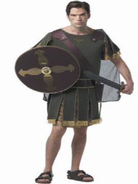 disfraz de caballero griego adulto para hombre. El ejército de Roma es ideal para Carnaval, Ferias Históricas, Eventos Temáticos de Disfraces y Representaciones Teatrales.Este disfraz es ideal para tus fiestas temáticas de disfraces de guerreros y arabes para hombre adultos.