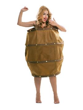 disfraz de barril para adultos