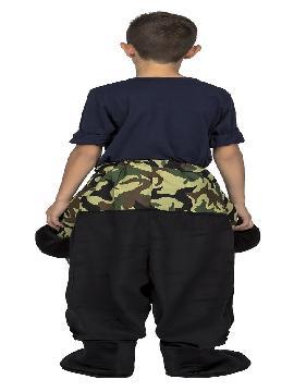 disfraz de mono a hombros para niño