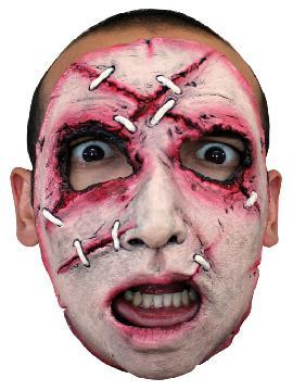 mascara asesino cara cosida para adultos 17