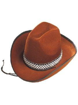 sombrero fieltro marron