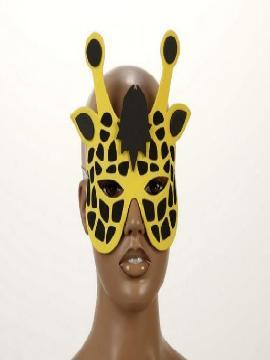 mascara o careta de jirafa eva 18x20 cm