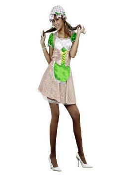 disfraz de campesina mujer