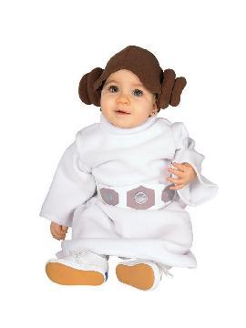 Disfraz de princesa leia bebé