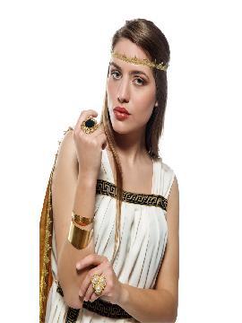 disfraz de troyana oro para mujer