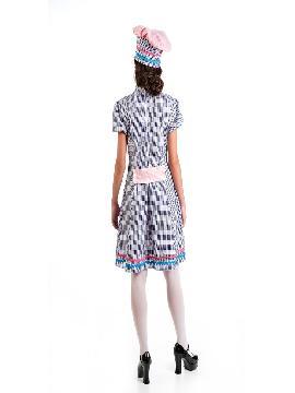 disfraz de pastelera para mujer