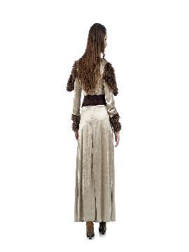 disfraz de guerrera medieval freya mujer