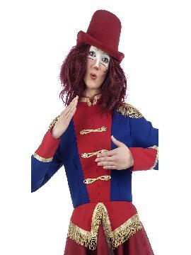disfraz de presentadora de circo mujer