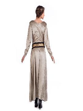 disfraz de princesa braveheart beig mujer