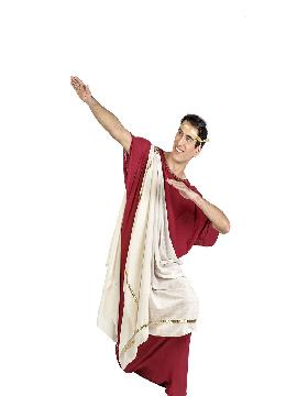 disfraz de emperador augusto hombre