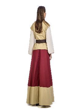 disfraz de tabernera medieval oria mujer