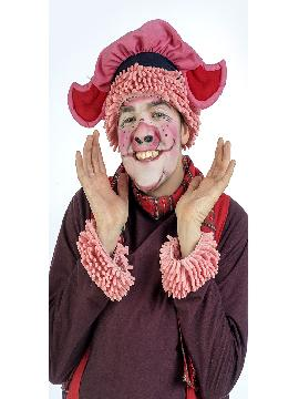disfraz de cerdito simpatico hombre