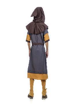 disfraz de escudero medieval fabrice hombre