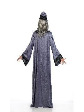 disfraz de mago merlin deluxe hombre