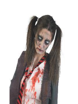disfraz de colegiala zombie mujer