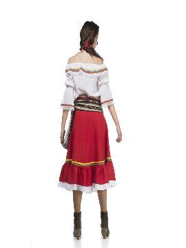 disfraz de mejicana deluxe para mujer